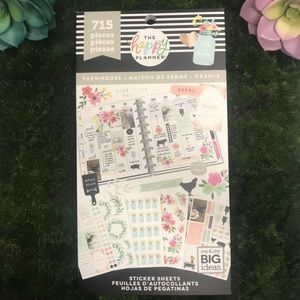 THE HAPPY PLANNER FARM HOUSE 715 pieces